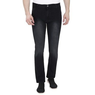 Pack of 2 Pelican Slim Fit Stretchable Jeans For Men_Pjblkble - Black & Blue