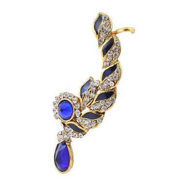 Kriaa Meenakari Finish Austrian Stone Ear Cuff  _1305617