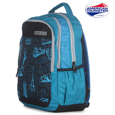American Tourister Backpack_code 6 turq