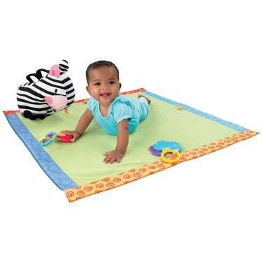 Mattel Fisher Price Zebra Blanket