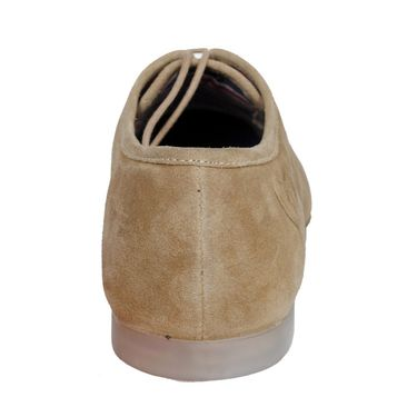 Delize Suede Leather Casual Shoes 1810-Tan