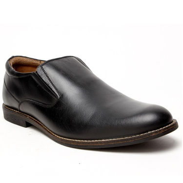 Delize Leather Formal Shoes 1895-Black