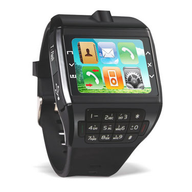 Branded Dual SIM Watch Mobile with Keypad & Camera + Bluetooth