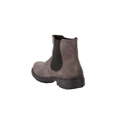 Delize Suede Leather Boot 2410-Grey