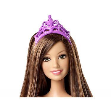 Mattel Barbie Fairytale Princess Teresa Doll - Purple (CFF24)