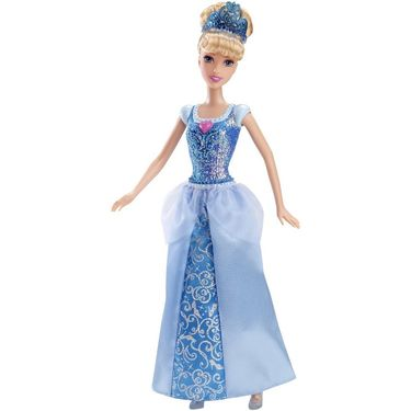 Mattel Disney Princess Sparkle Princess cindrella Doll CFB72