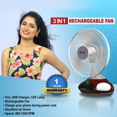 3 in 1 Rechargeable Fan