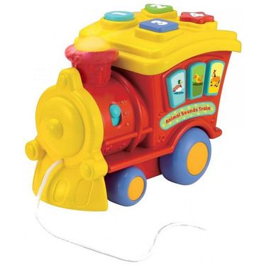 Winfun Animal Sounds Train-0677-01