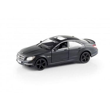 RMZ Mercedes Benz CLS 63 AMG Matte Black Pullback Diecast Toy Car