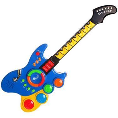 Musical Rock Guitar Toy - Multicolor