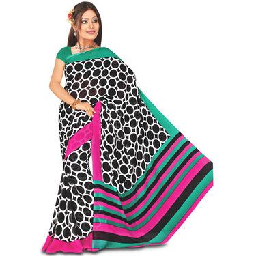 9 Rich Look Designer Collection Georgette Sarees