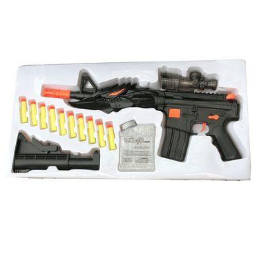 Kids Exciting Sniper Handgun Kit - 200 Silicon Balls, 10 Foam Darts