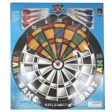 Round Matrix Dart Board With Plastic Darts