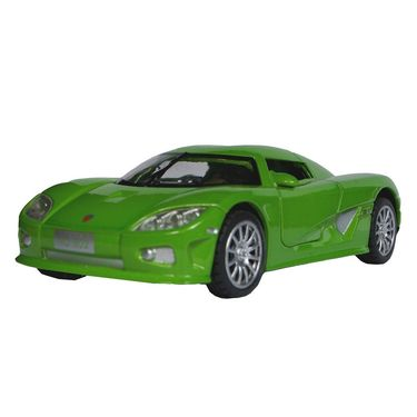 1:28 Scale Green Die-Cast Retro Concept Sports Car Toy Model