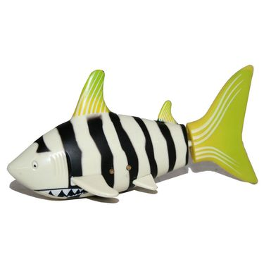 AdraxX RC Mini Toy Shark - Yellow and Black