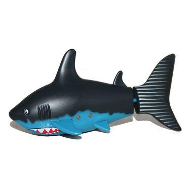 AdraxX RC Mini Toy Shark - Black and Blue