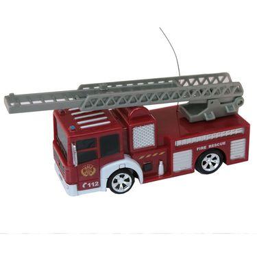 AdraxX Toy Fire Engine Playset - Golden
