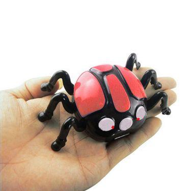 AdraxX RC Mini Wall Climber Beetle Toy - Red