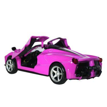 1:32 Scale Die Cast Door Opening Dashing Toy Car - Purple