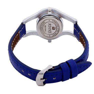 Adine Round Dial Analog Wrist Watch For Women_42bb018 - Blue