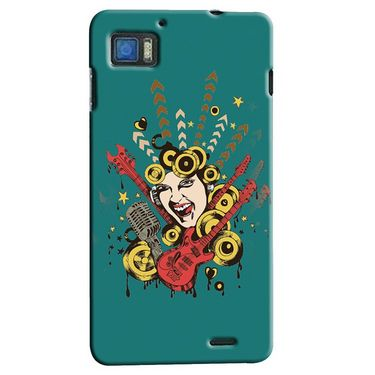 Snooky Digital Print Hard Back Case Cover For Lenovo K860 Td12171