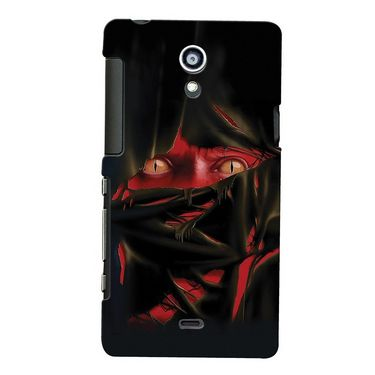 Snooky Digital Print Hard Back Case Cover For Sony Xperia T Lt30p Td12354