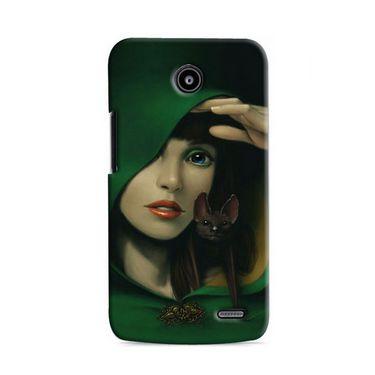 Snooky Digital Print Hard Back Case Cover For Lenovo A820 Td12435