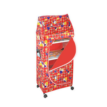 5 Shelves Folding Cupboard available at Naaptol for Rs.726
