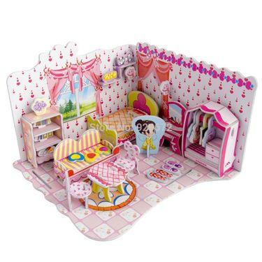 51pcs 3D Puzzle Dream Villa Sweet Bedroom pz-11