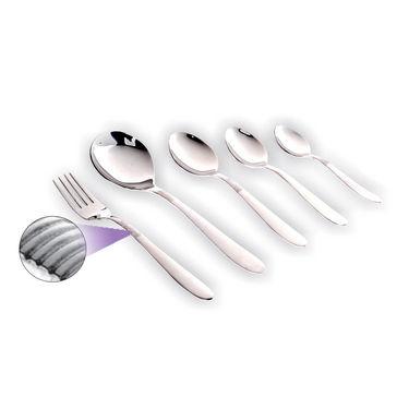 SignoraCare SC-C-3411-RE 26 Pcs Cutlery Set (Regular) Swirl - Silver
