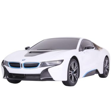 R/C 1:18 BMW i8 Toy Car - White