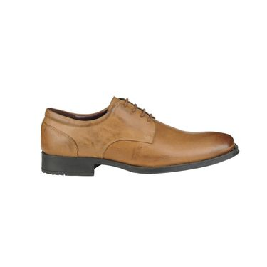 Delize Leather Formal Shoes 64873-Tan