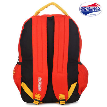 American Tourister Backpack_Code 3 Orange