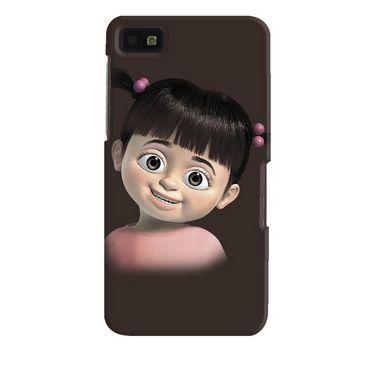 Snooky Digital Print Hard Back Case Cover For Blackberry Z10 Td12331