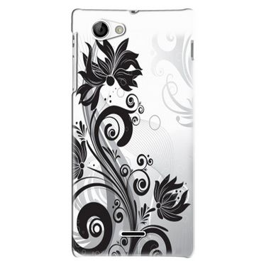 Snooky Digital Print Hard Back Case Cover For Sony Xperia J Td12768