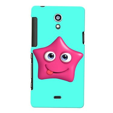 Snooky Digital Print Hard Back Case Cover For Sony Xperia T Lt30p Td12808