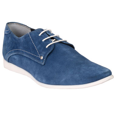 Delize Suede Leather Casual Shoes 7751-Inkblue