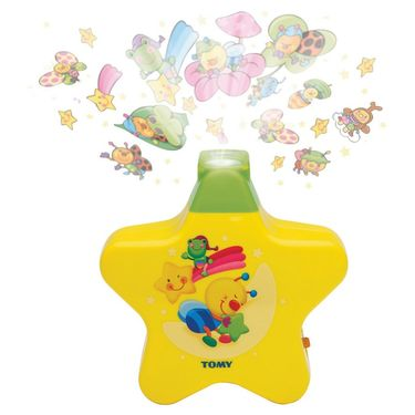 Kids Bedtime Musical Wall Projector - Multicolor