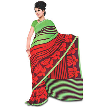 9 Rich Look Designer Collection Georgette Sarees (9G123) - AKSO
