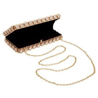 Arisha Metal Sling Bag AE26  -Golden