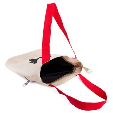 Arisha Cotton Khadi Handbag AE40t -Cream