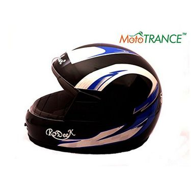 Mototrance AF2053 Autofurnish Multi Graphics Full Face Helmet (Black)