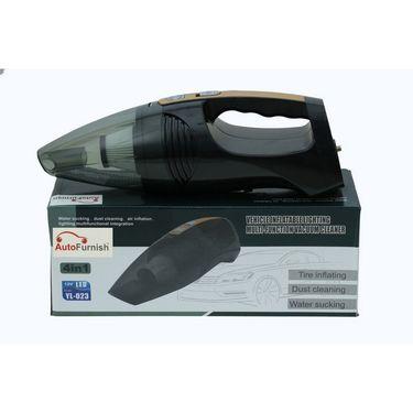 Auto furnish Modesto AF-6530 Multilingualism 2in1 Car Vacuum Cleaner cum Air Compressor-AF6530
