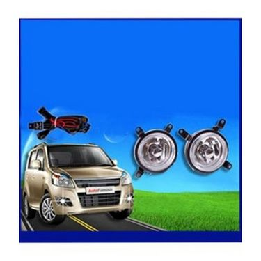 Maruti Suzuki Wagon-R TYPE-2 Fog Light Lamp Set of 2 Pcs. With Wiring