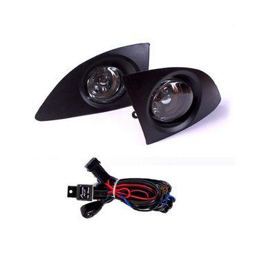 Tata INDICA XETA Fog Light Lamp Set of 2 Pcs. With Wiring