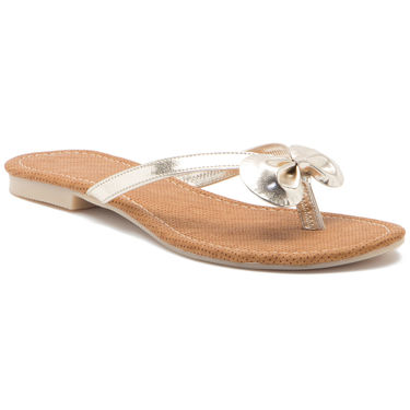 Aleta Synthetic Leather Womens Flats Alwf0416-Silver