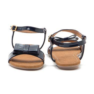 Aleta Synthetic Leather Womens Flats Alwf0616-Navy