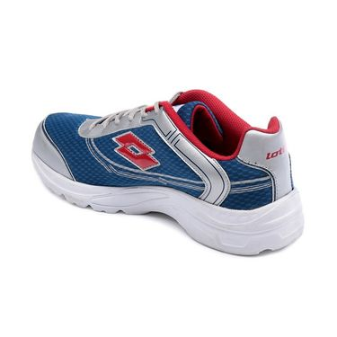 Lotto Mesh Sports Shoes AR2932 -Sea Blue & Silver