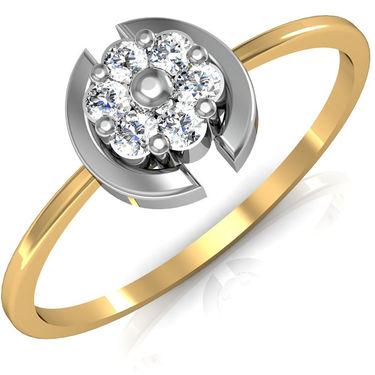 Avsar Real Gold & Swarovski Stone Vaishali Ring_A026yb