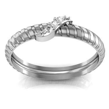 Avsar Real Gold & Swarovski Stone Mohini Ring_A044wb